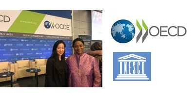 Working with OECD and UNESCO